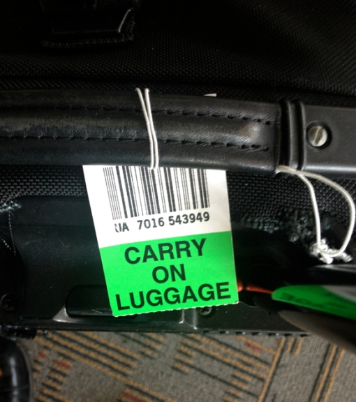 2-13 2013 Luggage Tag