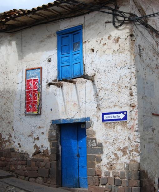 3-4 2013 Peru Blue Door