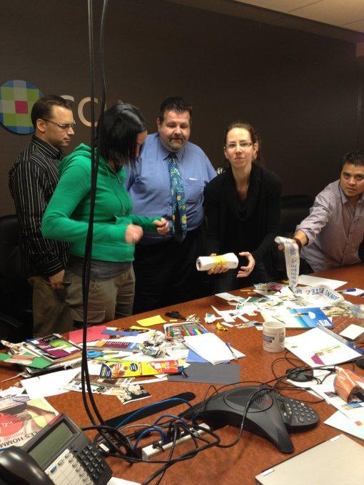 Team In An Agile Class Is Born, Collaboration!