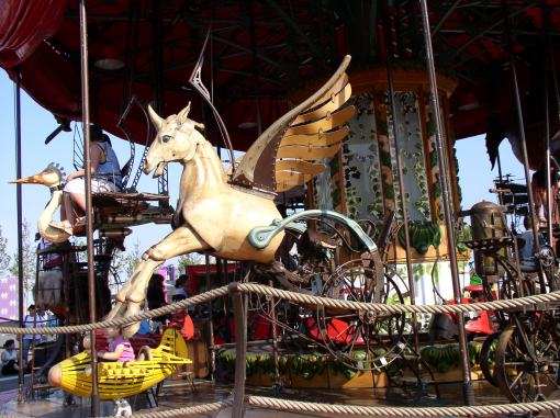 Even carousels are affected by different cultures.