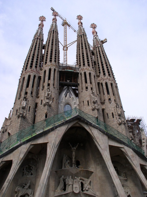 La Sagrada Familia was a minimum viable product that is still being built