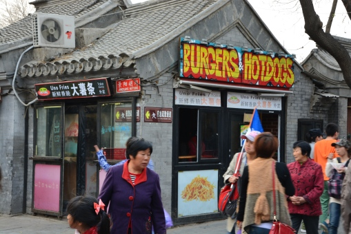 Hamburgers and hotdogs in China are they the same?