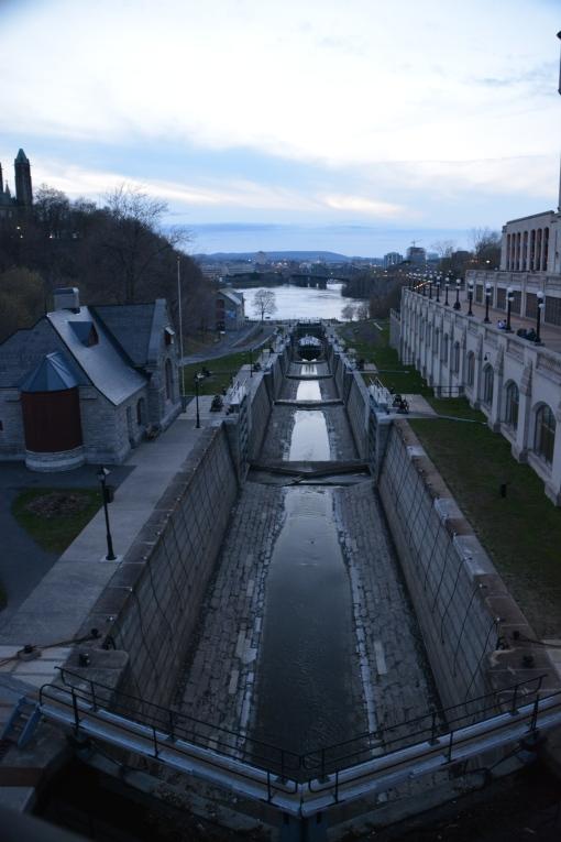 River locks are a  hybridization.