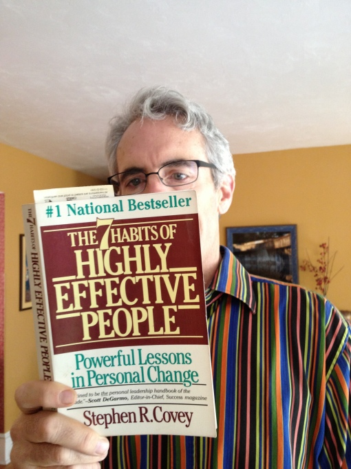 Rereading The 7 Habits of Highly Effective People.