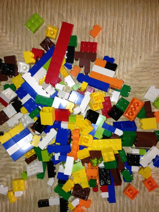 The TMMi is comprised of eight primary components, similar to a pile of Legos.