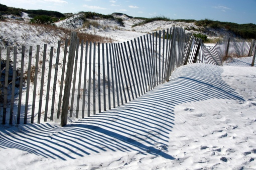 Boundaries, like fences are one potential difficulty.