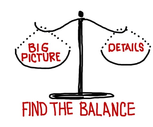 Its all about finding the balance!