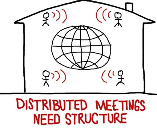 Distributed Meetings Need Structure