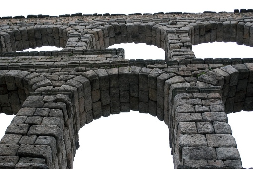 Engagement and feedback are interrelated like the bricks in the aqueduct.