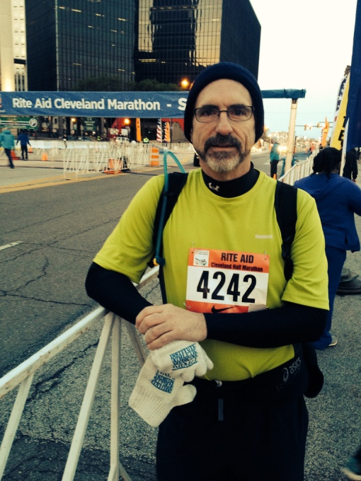 I had a choice of just treating the symptom (taking a pill, but still living on Buffalo chicken wings) or embracing a larger change of better eating habit and exercise (I ran my first ½ marathon in May 2014).