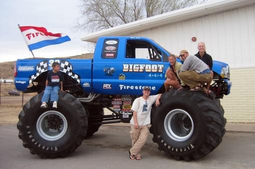 Bringing in the big guns, or the Bigfoot...