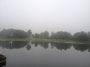 Sometimes estimation leaves you in a fog!