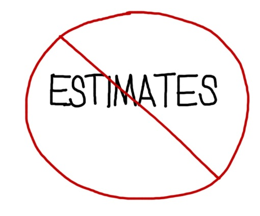 #NoEstimates  . . .Yes or No?