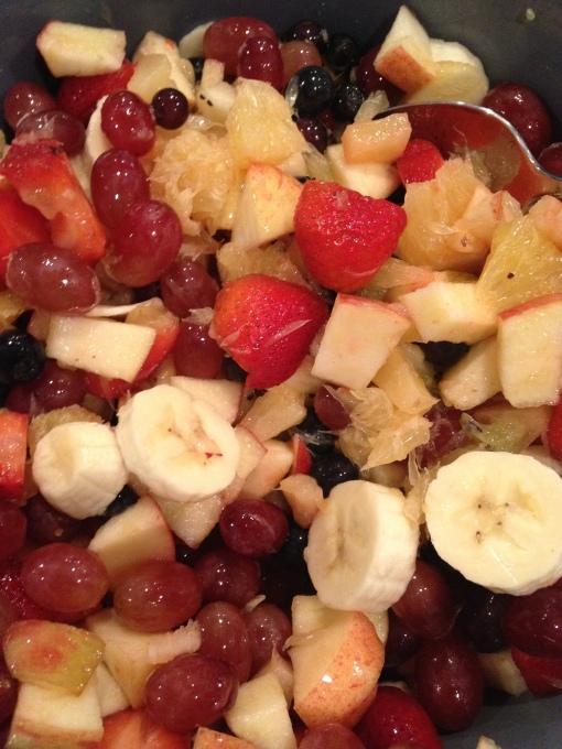 A good fruit salad requires balance.