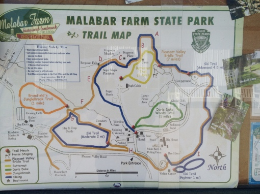 A trail map enables hikers to choose their own path!