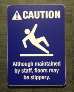 The definition of slippy doesn't change depending on if your Agile or not...