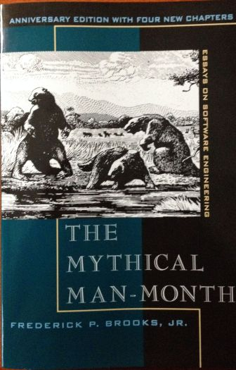 The front cover of The Mythical Man-Month