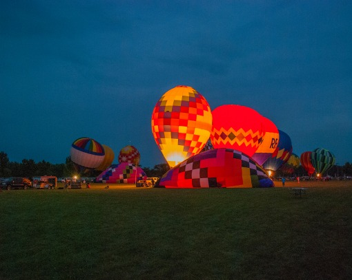 Balloon glows require more expertise than a single team!