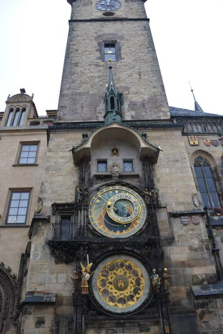 ornate astronomical clock