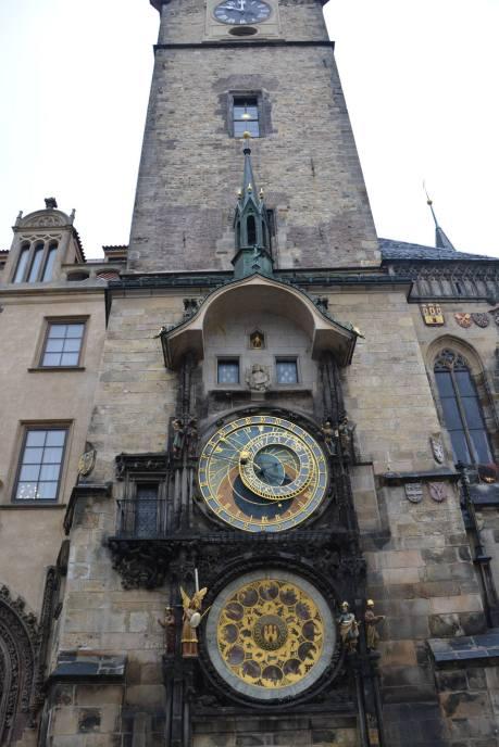 ornate astronomical clock