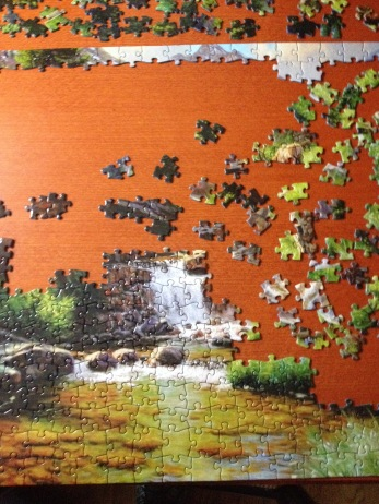 A puzzle and patterns have a lot in common.