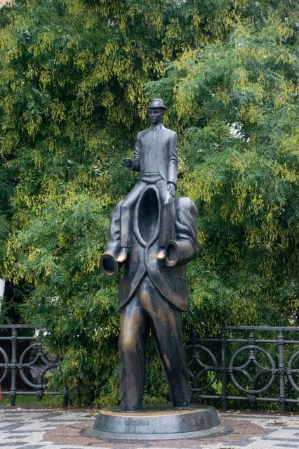 Kafka Statue