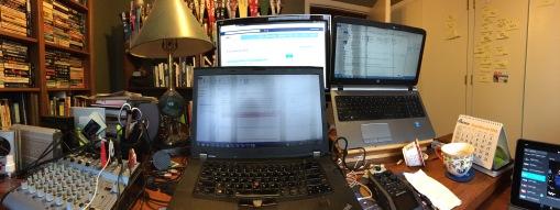 Lots of screens!