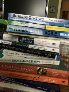 A Stack of Business Books