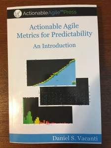 Cover of Actionable Agile Metircs