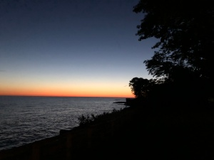 Dawn over Lake Erie