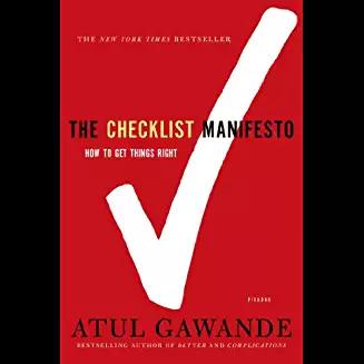 checklist-manifesto Book