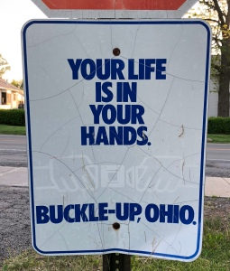 Buckle-Up Sign