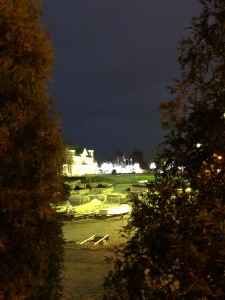 Christmas lights from afar