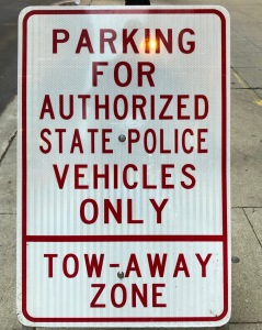 Special Parking For State Police