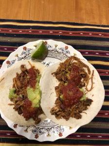 Two Pollo Tacos
